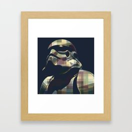 Star War | Storm Trooper Color Square * Movies Inspiration Framed Art Print