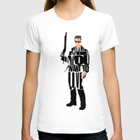 terminator T-shirts featuring The Terminator by Ayse Deniz