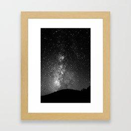 Nightscaped Framed Art Print