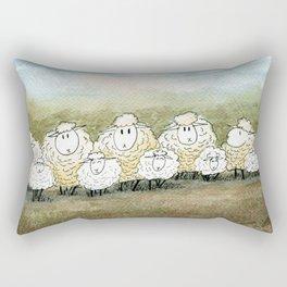Lambinated Rectangular Pillow