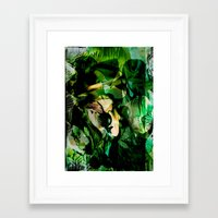 witchcraft Framed Art Prints featuring Witchcraft by Artwork-Fusions