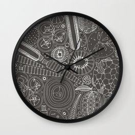 the good stuff mono Wall Clock