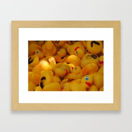 duck you. i mean DUCK YOU! DYAC Framed Art Print