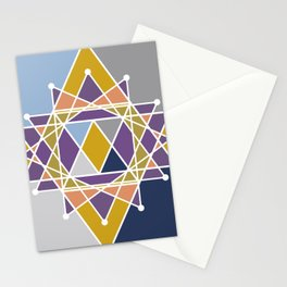 Autumn graphic Stationery Cards