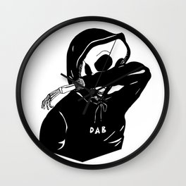 Death Dab Wall Clock