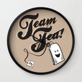 Team Tea! Wall Clock