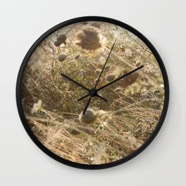 Washed in the gentle dawn Wall Clock