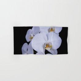 White Orchids Hand & Bath Towel