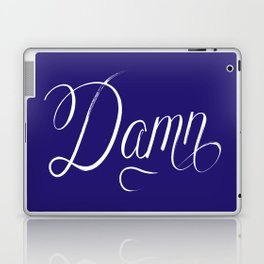 Damn (Hip Hop Calligraphy III) Laptop & iPad Skin