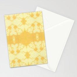 Eco Shibori Tumeric Stationery Cards