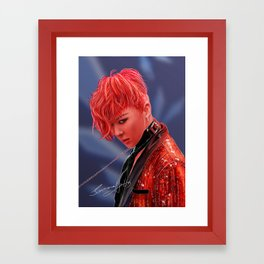 Bang Bang Bang Framed Art Print