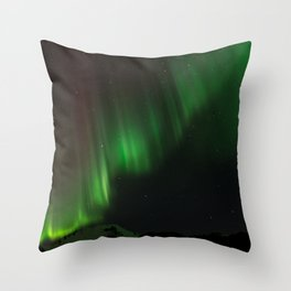 Northern Lights in Norway 02 Throw Pillow