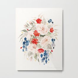 Loose Bouquet no. 2 Metal Print