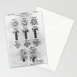 Self Locking screw Stationery Cards