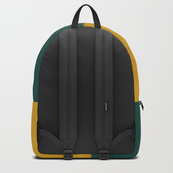 Yellow White Petroleum Backpack
