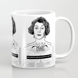 Aunt Polly 'Why Should The Boys...' Ink'd Series Coffee Mug
