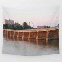 bridge Wall Tapestries featuring Bridge by Sarah Shanely Photography