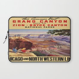 Vintage poster - Grand Canyon Laptop Sleeve