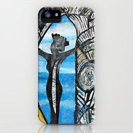 Seaside Beauty Queen iPhone Case