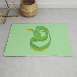 Snake Wants to Squeeze You Rug