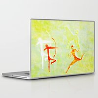 hunting Laptop & iPad Skins featuring Hunting by LoRo  Art & Pictures