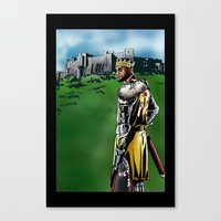 lebron Canvas Prints featuring LeBron James, Return of the King by PointsInThePaint