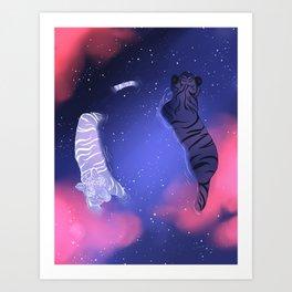 YOUNG GODS. Art Print