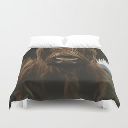 Scottish Highland Cattle Duvet Cover