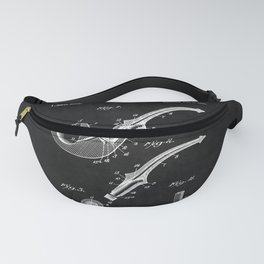 Tobacco Pipe Patent 2 Fanny Pack