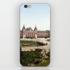 Amsterdam Central Station iPhone & iPod Skin