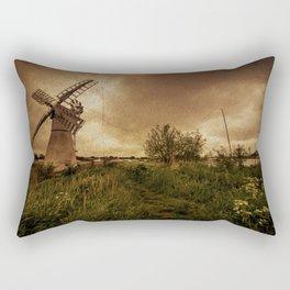 Thurne Wind Pump Rectangular Pillow
