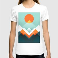 outdoor T-shirts featuring Everest by Picomodi