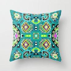 Anil tibetan print 3 Throw Pillow