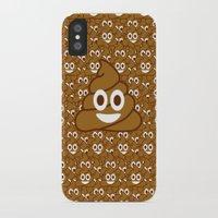 emoji iPhone & iPod Cases featuring Poop Emoji by Fabian Bross