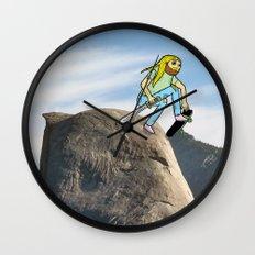 Half Dome Drop In Wall Clock