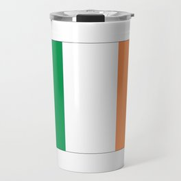 Irish flag -ireland,eire,airlann,irish,gaelic,eriu,celtic,dublin,belfast,joyce,beckett Travel Mug