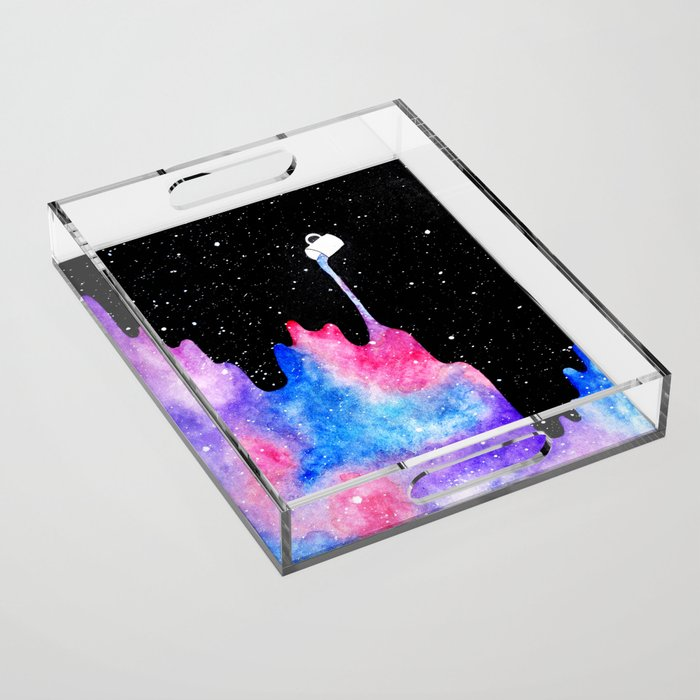 THERE'S COFFEE IN THAT NEBULA II Acrylic Tray