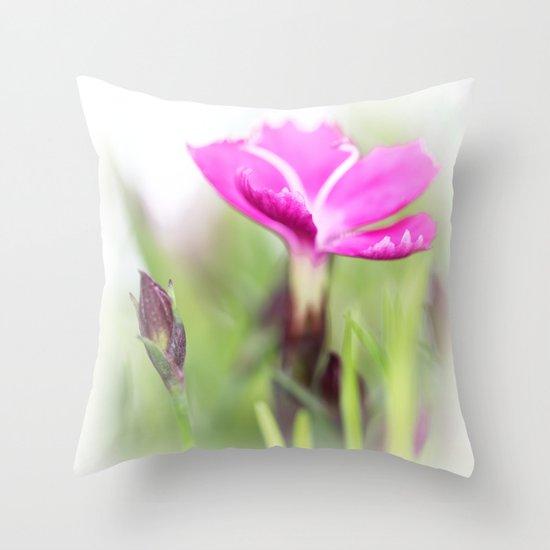 Lilac dream... so sweet... Throw Pillow