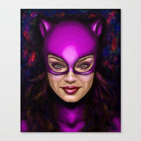 Cat of Kunis Canvas Print