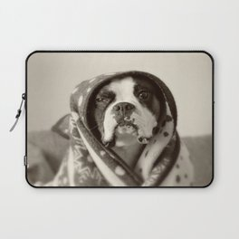Obi Wan (Buck the world's most lovable boxer dog) Laptop Sleeve