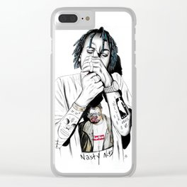 RICH THE KID Clear iPhone Case