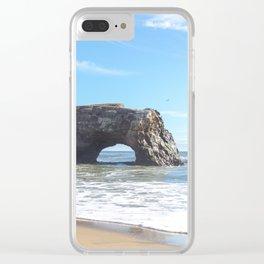 Santa Cruz Natural State Bridge Clear iPhone Case