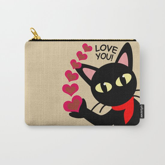 Love you! Carry-All Pouch