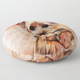 Yorkshire Terrier Floor Pillow