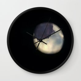 a rose for my rose Wall Clock