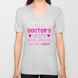Doctor's Wife Unisex V-Neck