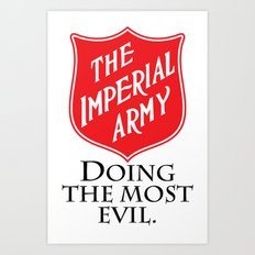 The Imperial Army Art Print