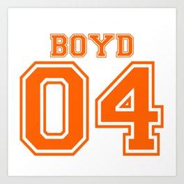 Boyd 04 Art Print