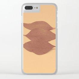 Autumn 1 Clear iPhone Case