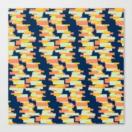 BP 62 Rectangle Stripes Canvas Print